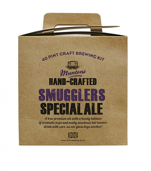 Bierpaket Muntons Hand-Crafted Smugglers Special Ale, 3,6 kg