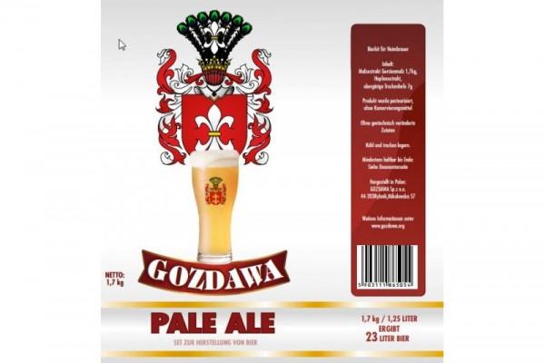 Bierkit GOZDAWA Pale Ale - 1,7 kg zum Bierbrauen