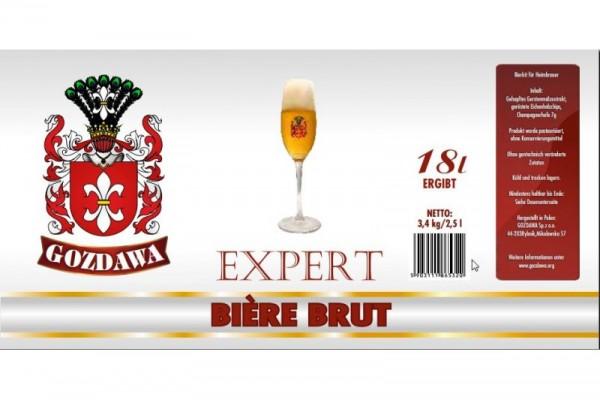 Bierkit GOZDAWA Bière Brut - 3,4 kg