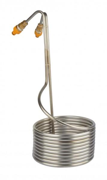 Würzekühler Edelstahl Eintauchmodell für 20 L Würze