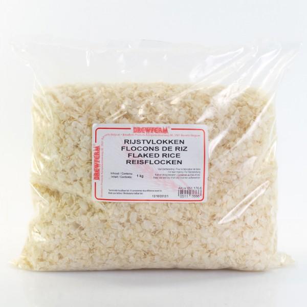 500g Reisflocken zur Bierherstellung
