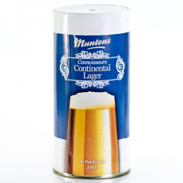 Muntons Continental Lager Bierkit 1,8kg