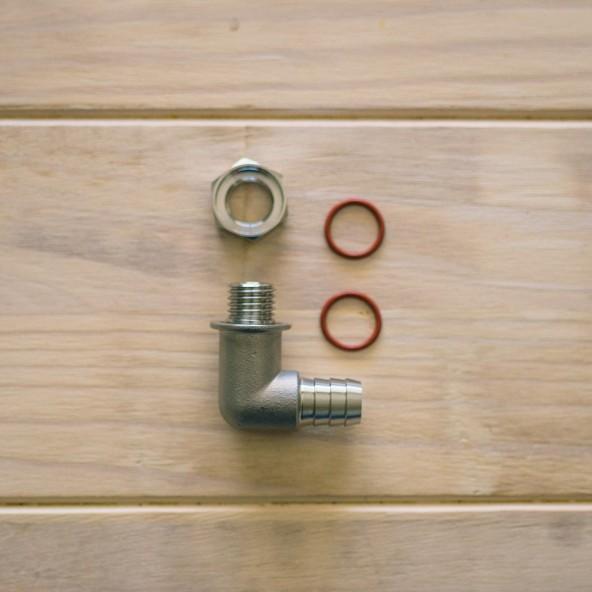 Ss Brewtech™ Abblase-Anschlussstück für FTSs und Brew Bucket-Deckel