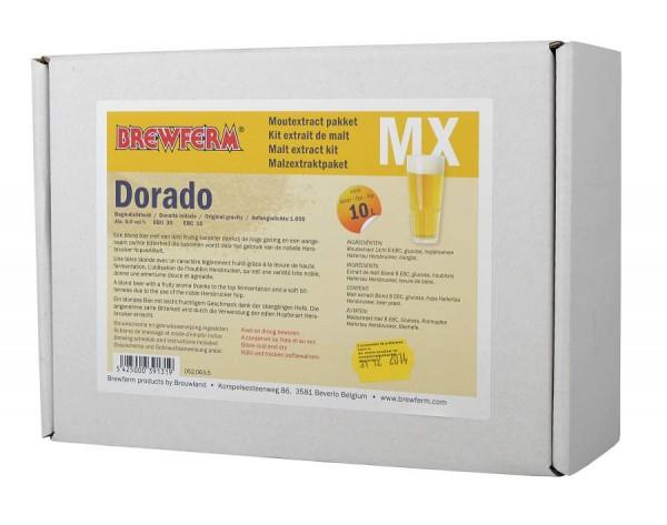 Malzextrakt Biermischung Dorado für 10 Liter