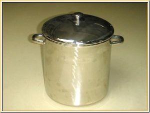 Edelstahl Kochtopf-Maischekessel von 25 bis 150 Liter ohne Auslaufhahn