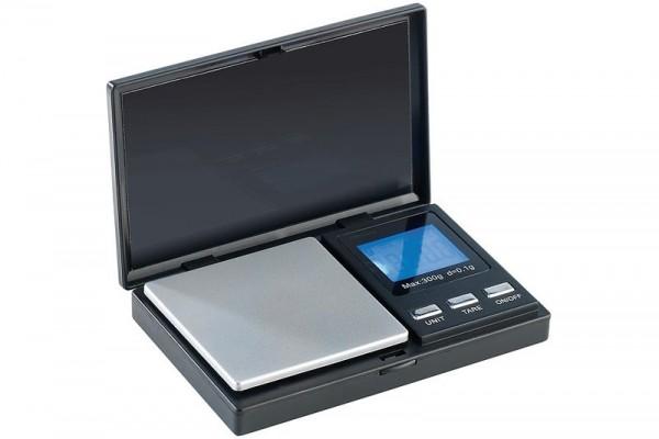 Rosenstein & Söhne Digitale Taschen-Feinwaage bis 300 g, Teilung 0,1 g