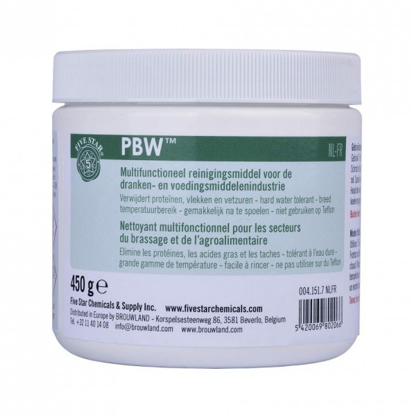 PBW Five Star 450 g - Multifunktionelles Reinigungsmittel
