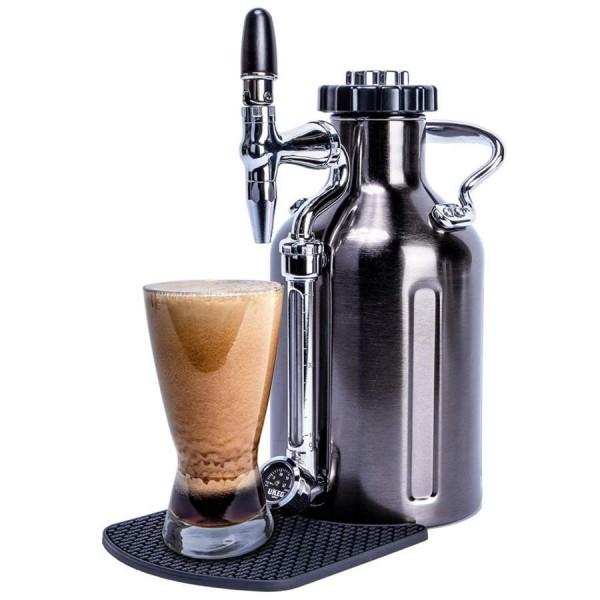 GrowlerWerks uKeg™ Nitro 50 schwarz verchromt - 1,5 l (Für Kaffee)