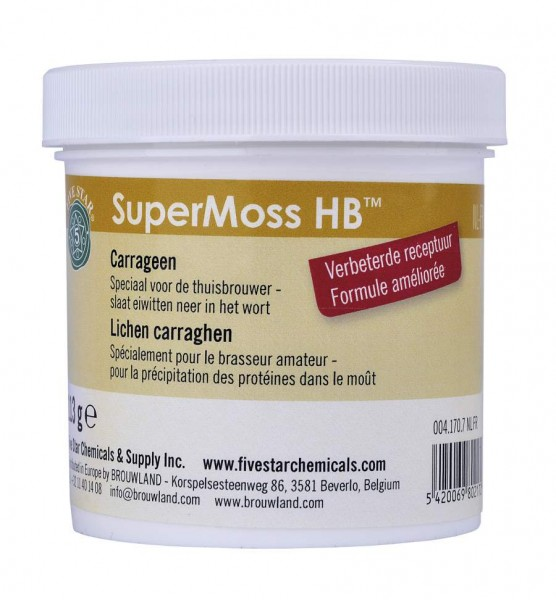Supermoss HB Five Star 113 g DE-DK