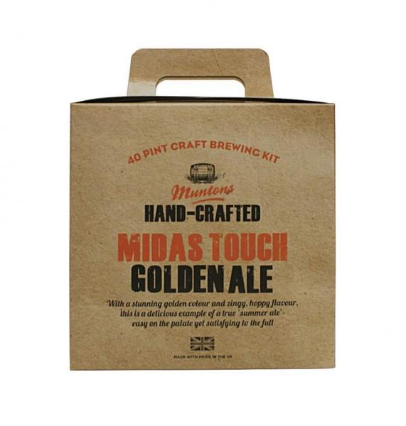Bierpaket MUNTONS PREM GOLD Midas Touch 3,6 kg - Pale Ale