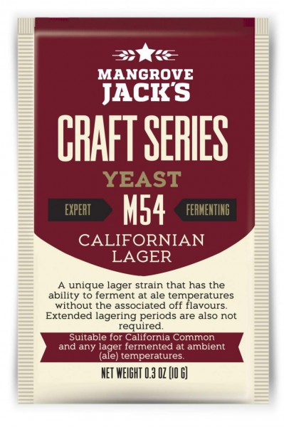 Mangrove Jack's Craft Series 10 g - Californian Lager M54