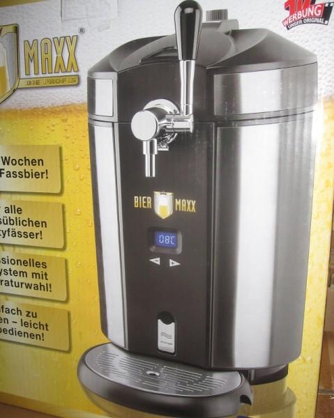 Bier Maxx Zapfgerät - Biermaxx Bierzapfanlage *neues Modell mit Temp.
