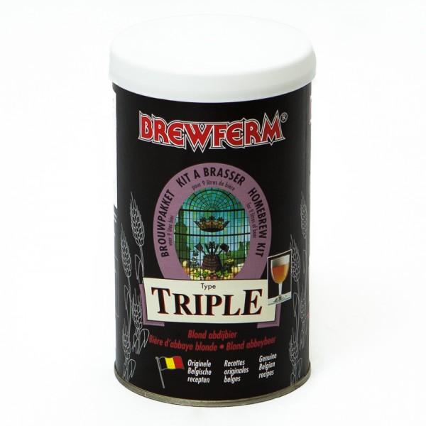 Brewferm 1,5kg Triple Bierkit aus original Belgischen Rezepten