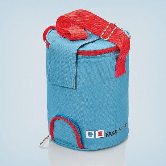 Mobile Kühlhaltetasche für 5 Liter Partyfass zum Zapfen auch über Zapfanlage