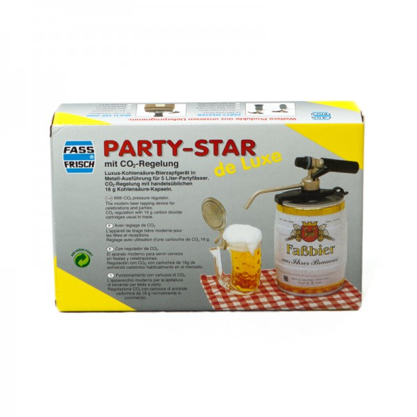 Party-Star de Luxe mit CO2-Regelung