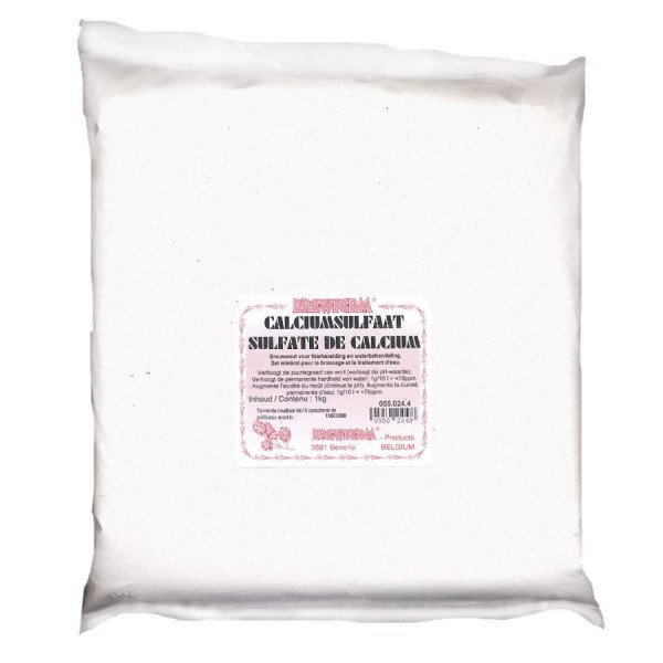 Kalziumsulfat 1Kg - Brausalz Calciumsulfat