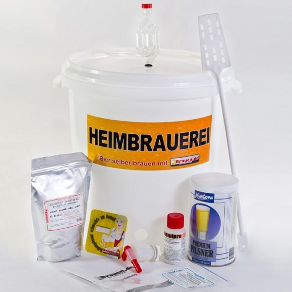 Bierbrauset für Anfänger mit Zubehör bis 23 Liter
