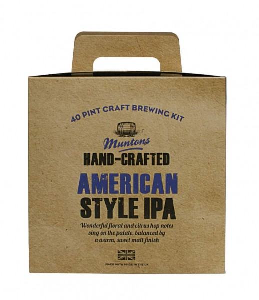 Bierpaket Muntons Hand-Crafted American Style IPA, 3,6 kg