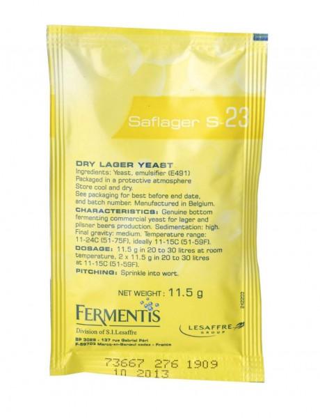 Fermentis Saflager S-23 11,5g untergärige Bierhefe