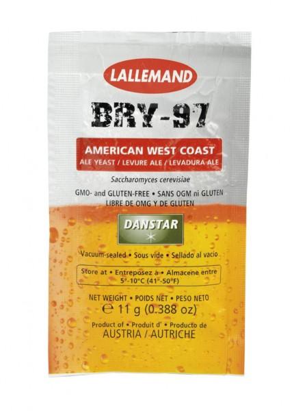 DANSTAR 11g trockene Bierhefe BRY-97 Pale Ale