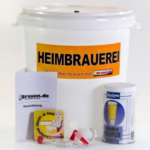 Bierbrauset für Anfänger bis 23 Liter