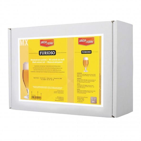 Malzextrakt Biermischung Furioso für 10 Liter