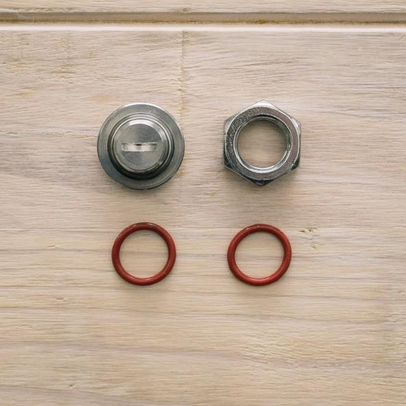 Ss Brewtech™ Edelstahl-Stopfen 17 mm