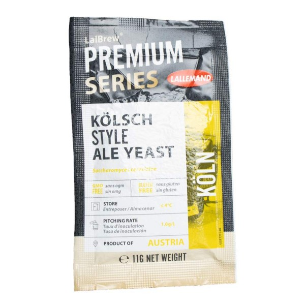 LalBrew® Köln - Kölner-Art Ale-Hefe- 11 g obergärig