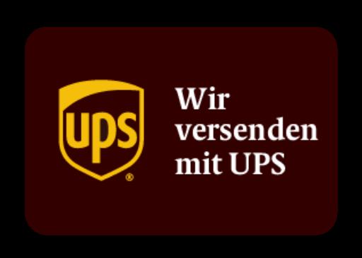 Versand via UPS