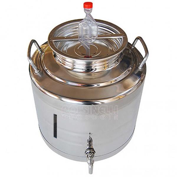 30 Liter Gärkanne aus Edelstahl