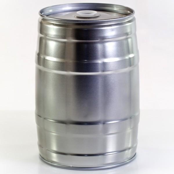 5 Liter Partyfass aus Metall wiederverwendbar