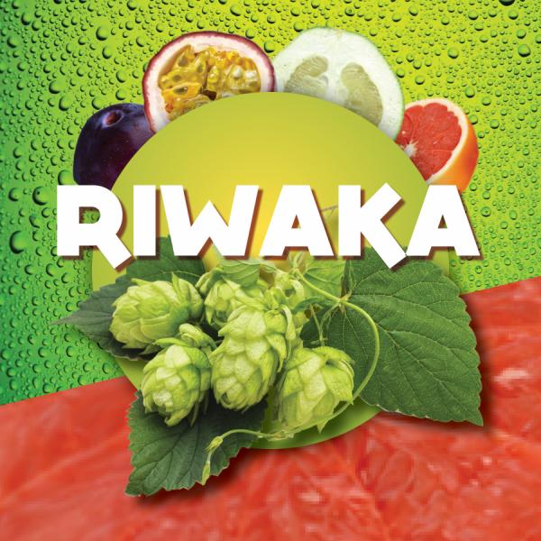 RIWAKA Hopfenpellets zum Bierbrauen