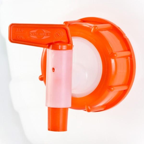 Auslaufhahn mit Überwurfmutter NW10 für Speidel Gärbehälter