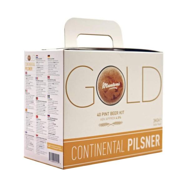 Muntons Gold Continental Pilsner Bierkit