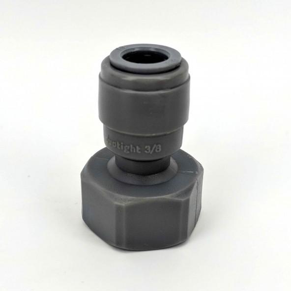 "Duotight Anschlussstück 9,5 mm (3/8"") Steckanschluss auf 5/8"" IG"