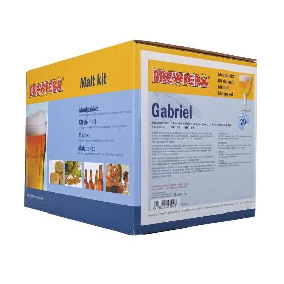 Fertige Malzmischung zum Brauen von 20 Liter Gabriel Tripelbier