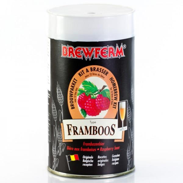 Brewferm 1,5 kg Framboos Bierkit (Himbeere)