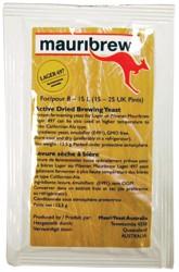 Mauribrew Lager497 12,5g untergärige Bierhefe