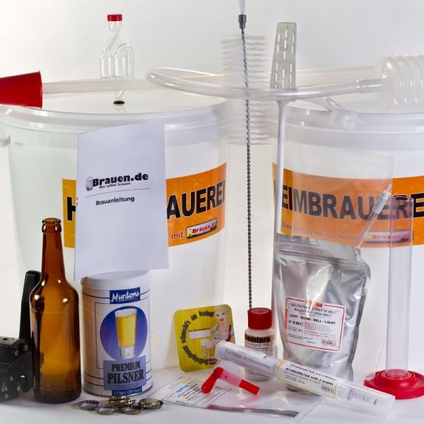 Komplett Ausstattung für Bierkit Brauer