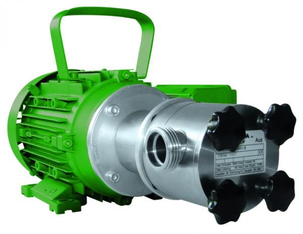 Impellerpumpe NIROSTAR/V 2000-A/PT mit Motor, Kabel und Stecker