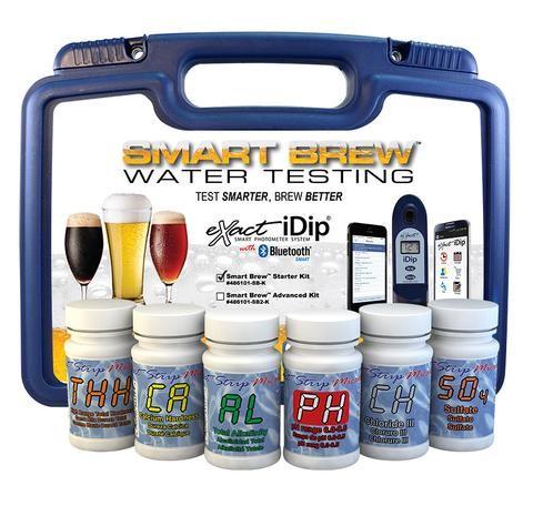 Profi-Wasseranalyse-Set - SMART BREW - Starterkit eXact® iDip®