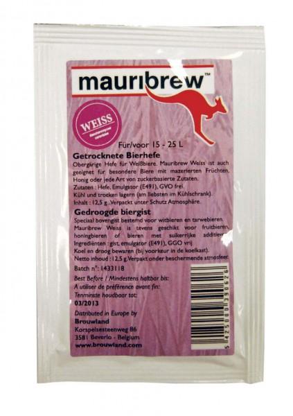 Mauribrew Weiss trocken bierhefe 12,5 g