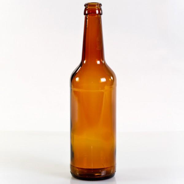 0,5 Liter Wiederverwendbare braune Mehrwegflasche aus Glas