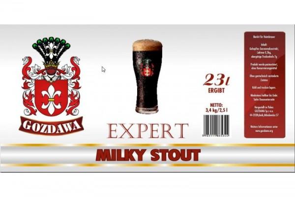 Bierkit GOZDAWA Milky Stout - 3,4 kg