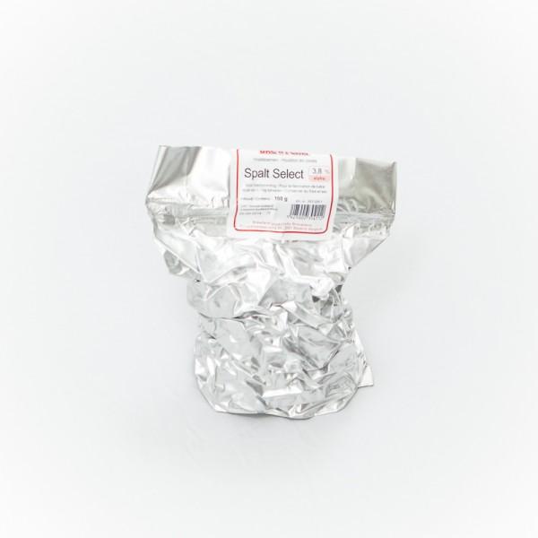 100g Spalt Select Rohhopfen zum Bierbrauen, Alfasäurengehalt 3,8%
