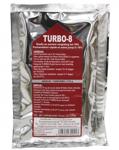 """Trockenhefe + Hefenährsalz """"TURBO-8"""" von Alcoferm fur 25 L - Likörherstellung"""