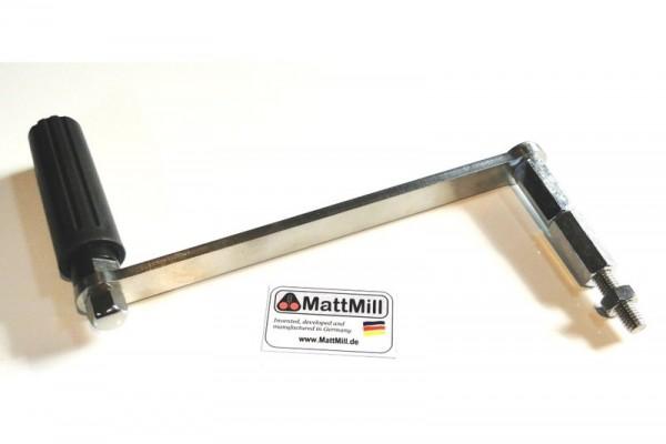 Handkurbel für Malzmühlen von MattMill