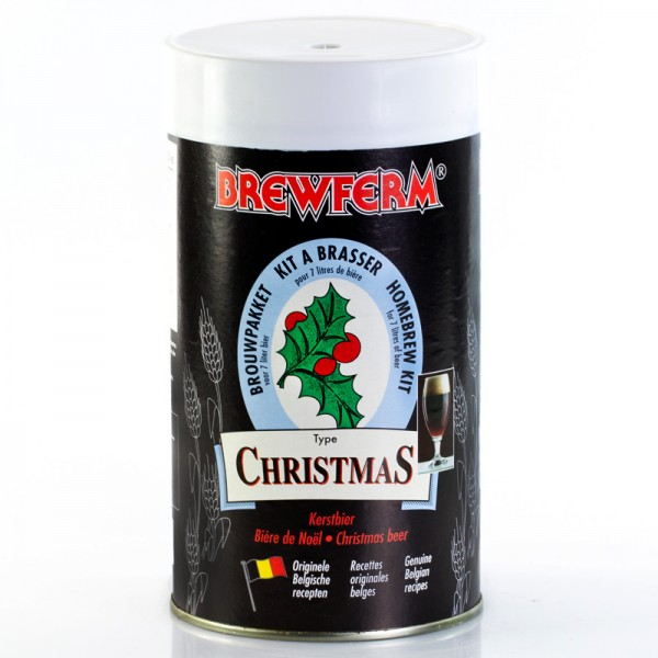 Brewferm 1,5kg Weihnachts Bierkit aus original Belgischen Rezepten