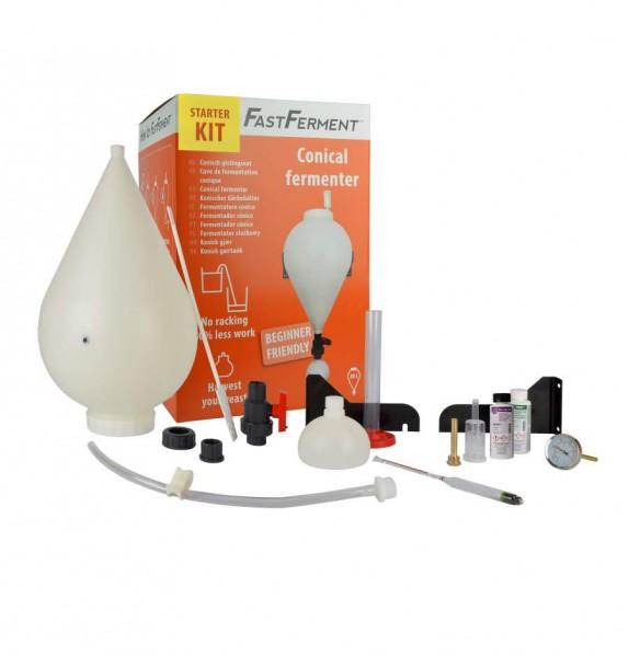 FastFerment™ Starterkit - konischer Gärbehälter + Bierbrauzubehör