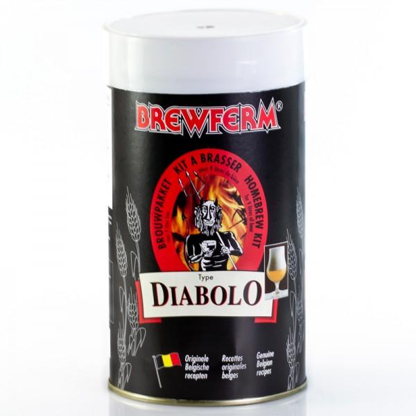 Brewferm 1,5kg Diabolo Bierkit aus original Belgischem Rezepten